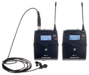 Sennheiser EW 112P G3/G4-B omni-directional EW system.
