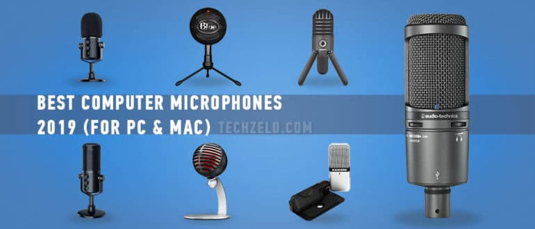 Best Computer Microphones 2019 (For PC & Mac), top microphone for desktop computer