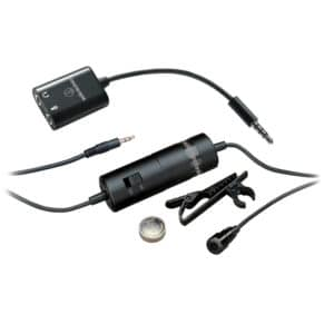 Audio-Technica ATR-3350iS Lav Mic