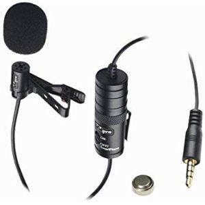 Insignia™ NS-DLMIC10P lapel microphone