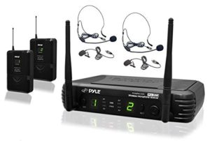 PylePro PDWM3400 Premier Series UHF Microphone System