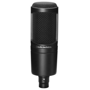 Audio-Technica AT2020USB+ condenser microphone for singing