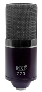 MXL Mics Condenser Microphone 770 MIDNIGHT