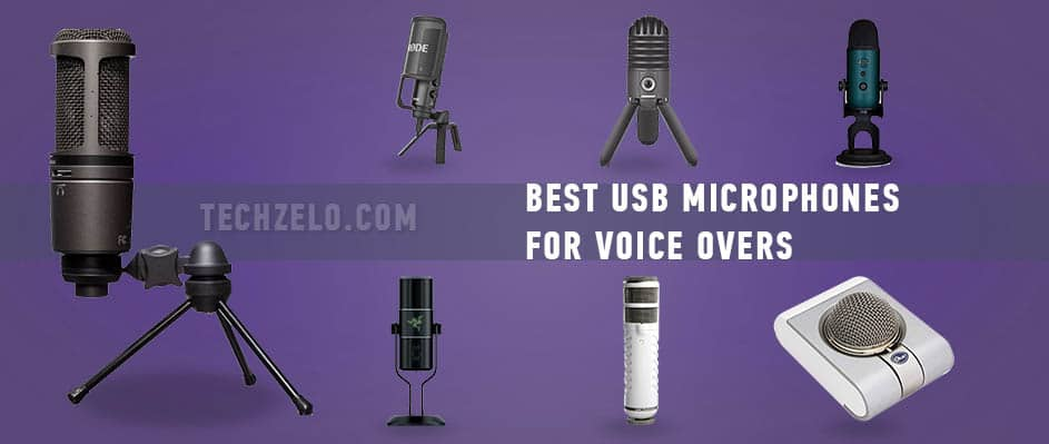 Best USB microphones for voice overs
