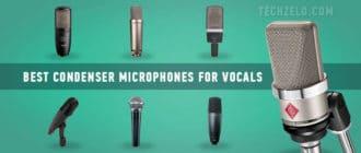 Best condenser microphones for vocals