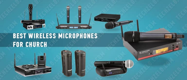 Best wireless microphones for church – handheld, lapel, headset and more