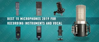 The 15 best microphones 2019 for recording instruments, vocal and podcasts