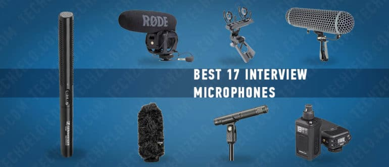 Best 17 interview microphones