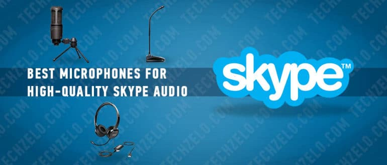 Best microphones for high-quality Skype audio