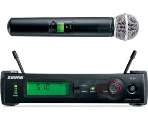 Shure SLX2 SM58 Handheld Transmitter with SM58
