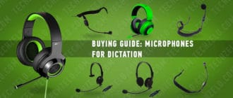 Buying guide Microphones for dictation