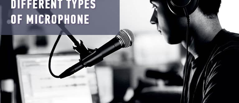Different types of microphone