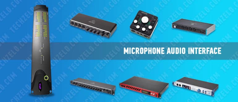 Microphone audio interface – all about microphones