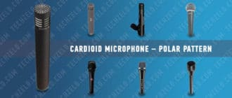 Сardioid microphone – polar pattern
