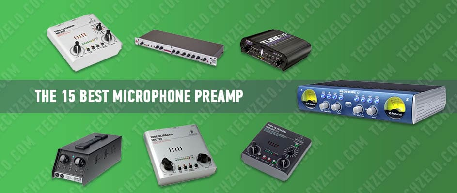 The 15 Best microphone preamp