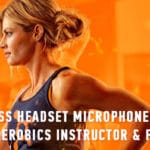 Wireless Headset Microphone Systems for Aerobics Instructor & Fitness