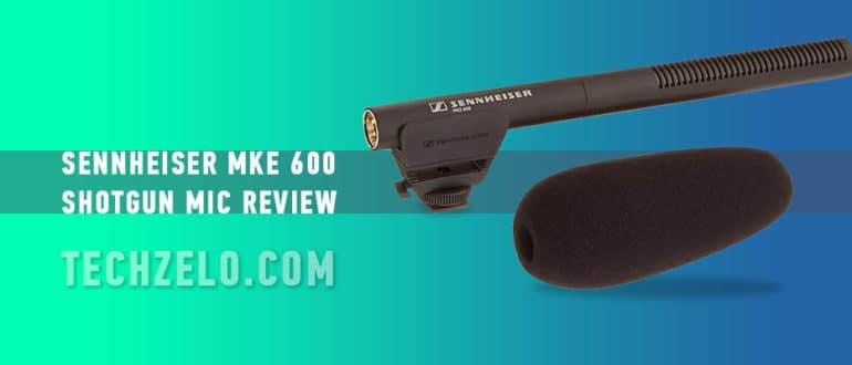 Sennheiser MKE 600 Shotgun Mic review