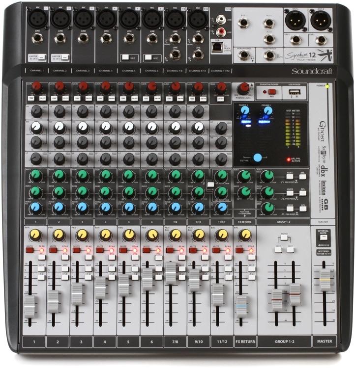 Soundcraft Signature MTK 12