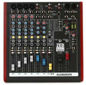 Allen and Heath ZED-10FX