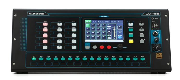 Allen & Heath Qu-Pac Ultra-Compact Digital Mixer