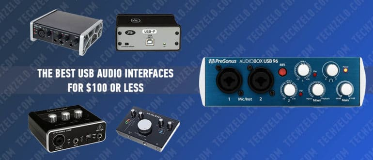 The Best USB Audio Interfaces for $100 or Less