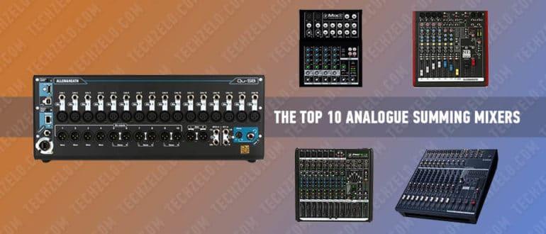 The Top 10 Analogue Summing Mixers