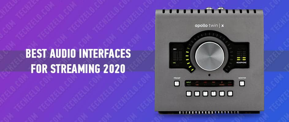 Best Audio Interfaces for Streaming 2020