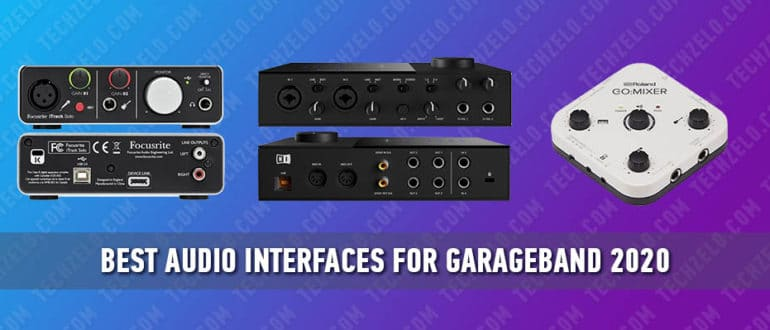 Best Audio Interfaces for Garageband 2020