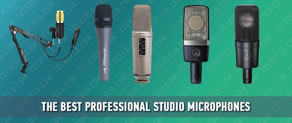 The best professional studio microphones