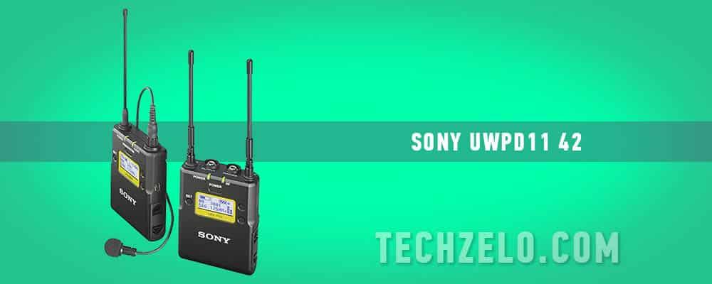 Sony UWPD11 42 Lavaliere Microphone