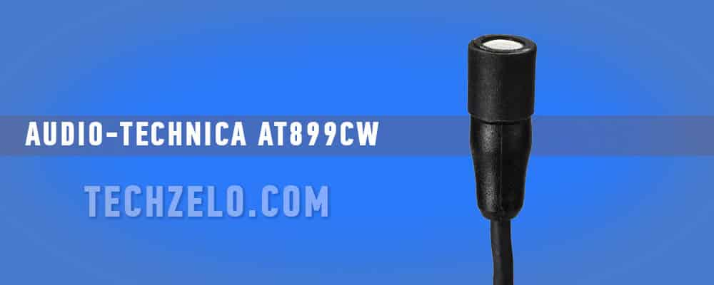 Audio-Technica AT899cW Omnidirectional Condenser Lavalier Microphone