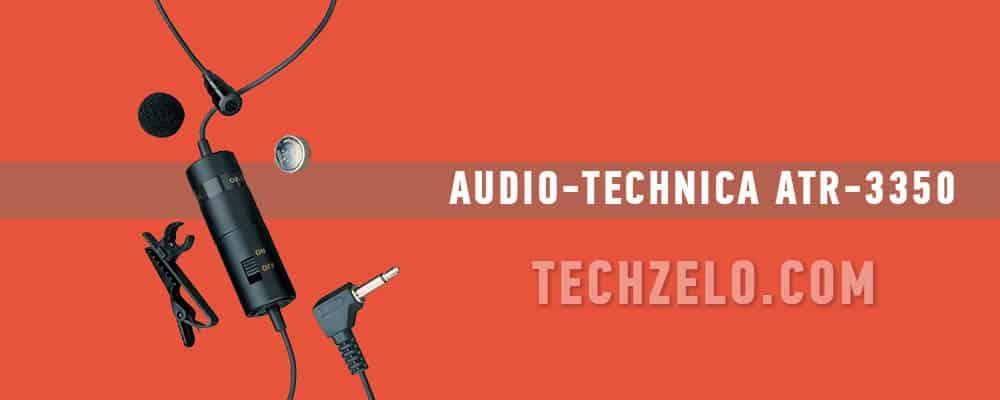 Audio-Technica ATR 3350 Omnidirectional Condenser Lavalier Microphone