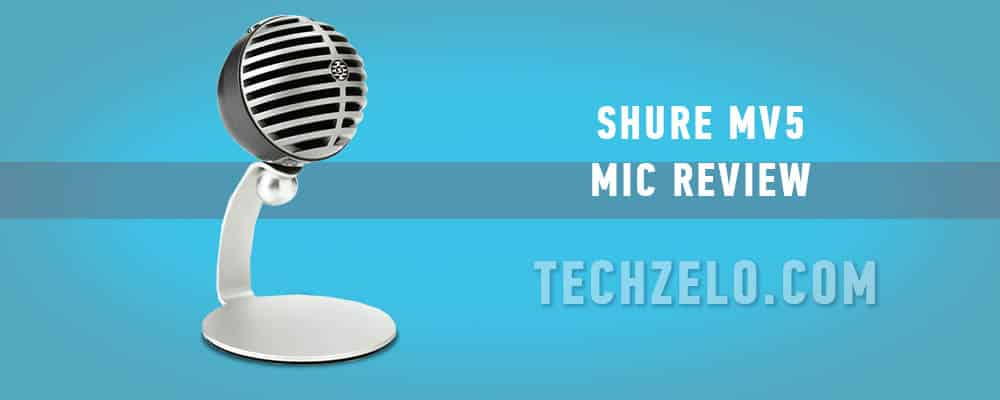 Shure MV5 mic review