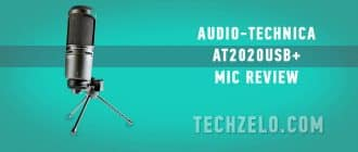 Audio-Technica AT2020USB+ mic review